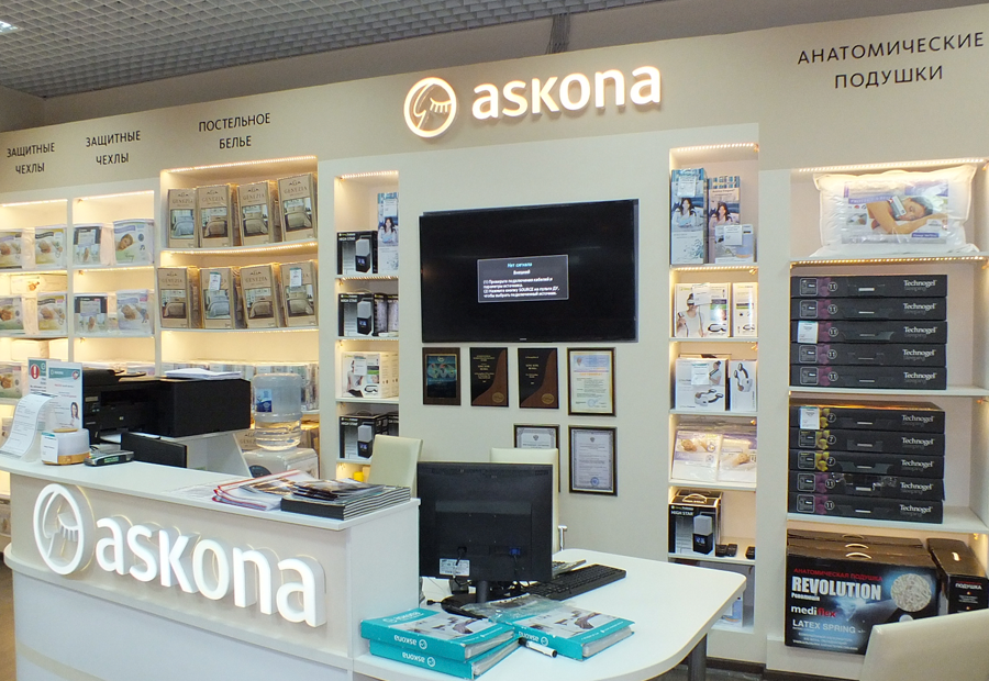 Askona-reception